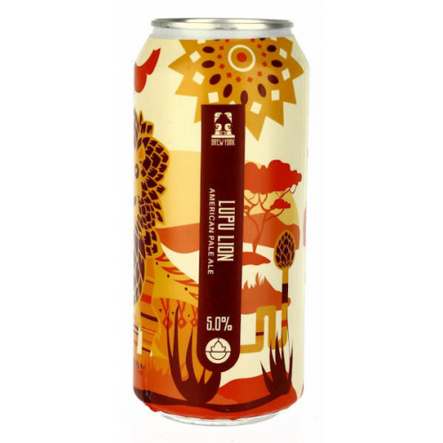 Brew York Lupu Lion Can