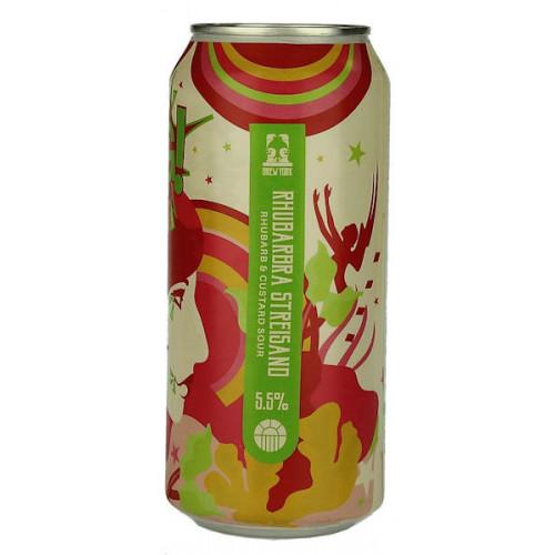 Brew York Rhubarbara Streisand Sour Edition Can