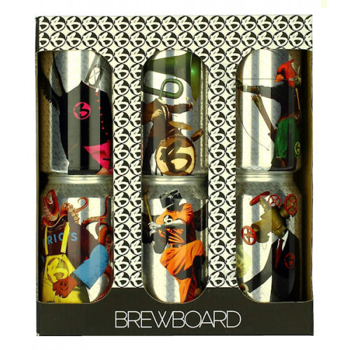 BrewBoard 6 Can Gift Box