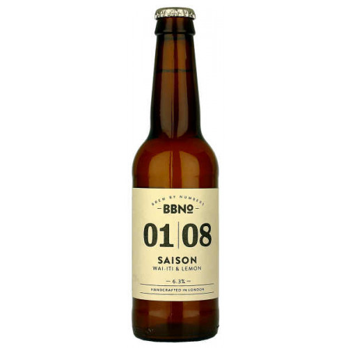Brew By Numbers 01/08 Saison (Wai-iti and Lemon)