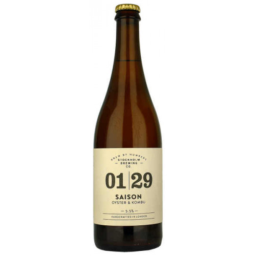 Brew By Numbers 01/29 Saison (Oyster and Kombu)