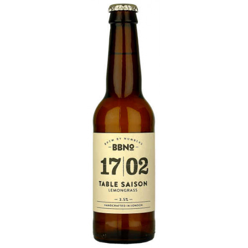 Brew By Numbers 17/02 Table Saison (Lemongrass)