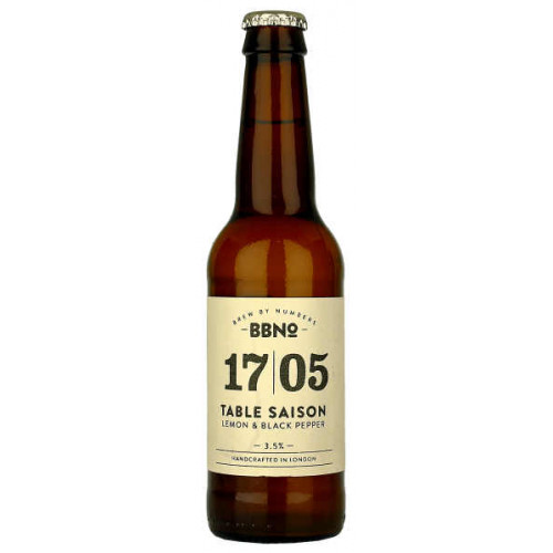 Brew By Numbers 17/05 Table Saison (Lemon and Black Pepper)