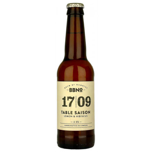 Brew By Numbers 17/09 Table Saison (Lemon and Hibiscus)