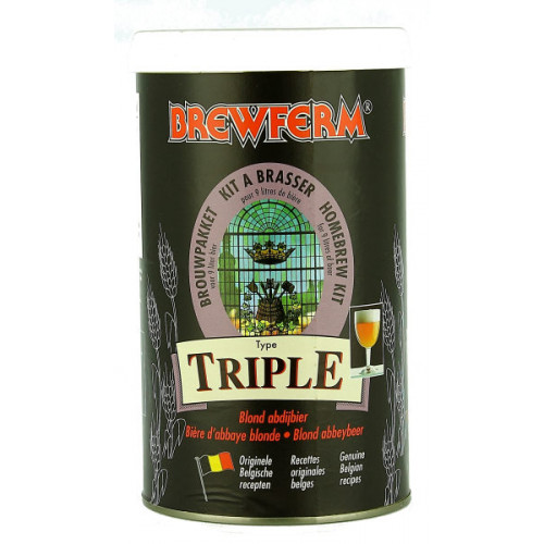 Brewferm Triple (Deep Golden) Home Brew Kit