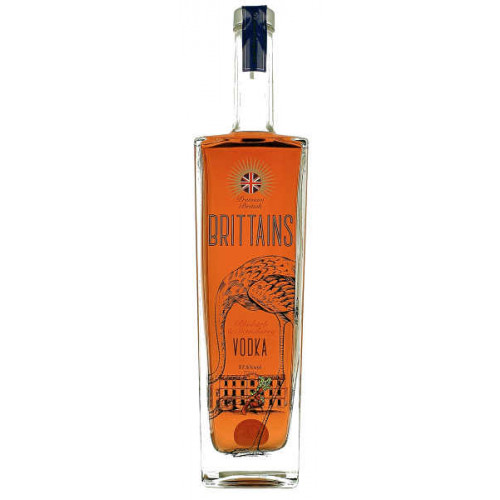 Brittains Premium Rhubarb and Strawberry Vodka