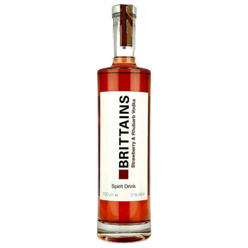 Brittains Strawberry and Rhubarb Vodka Spirit