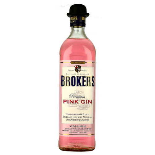 Brokers Premium Pink Gin