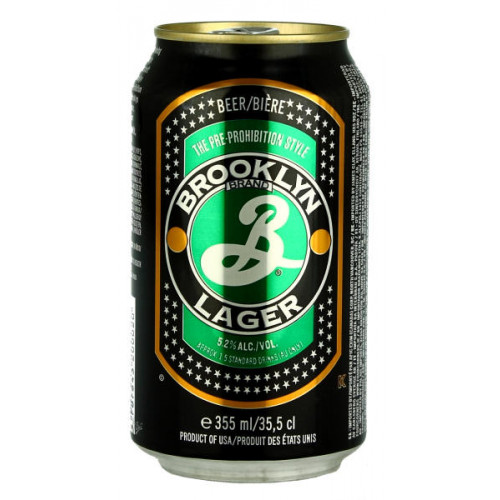 Brooklyn Lager Can