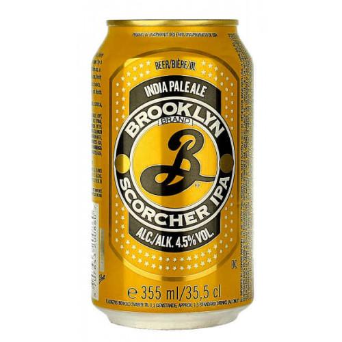 Brooklyn Scorcher IPA Can (B/B Date 22/02/19)
