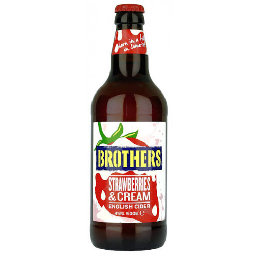 Brothers Strawberries and Cream Cider