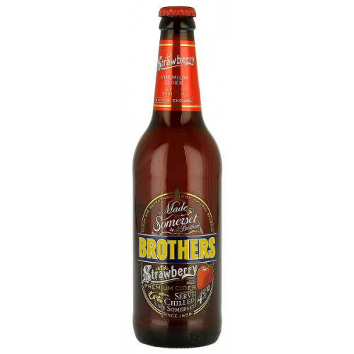 Brothers Strawberry Pear Cider