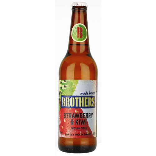 Brothers Strawberry and Kiwi Cider