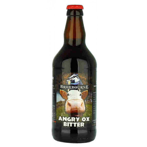 Broxbourne Brewery Angry Ox Bitter (B/B Date End 09/19)