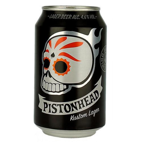 Brutal Brewing Pistonhead Kustom Lager (B/B Date 14/06/19)