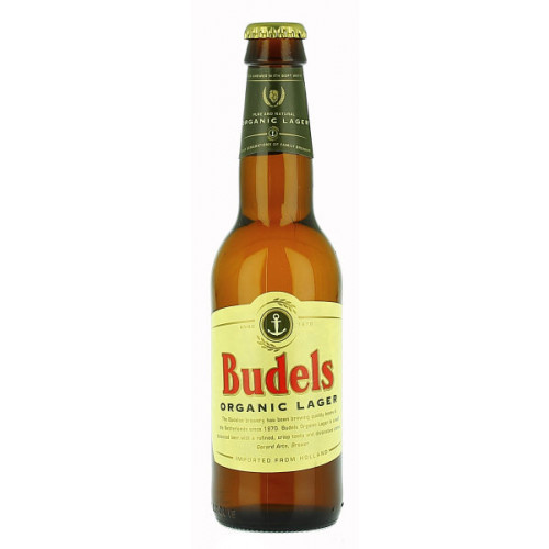 Budels Organic Lager (B/B Date End 01/19)