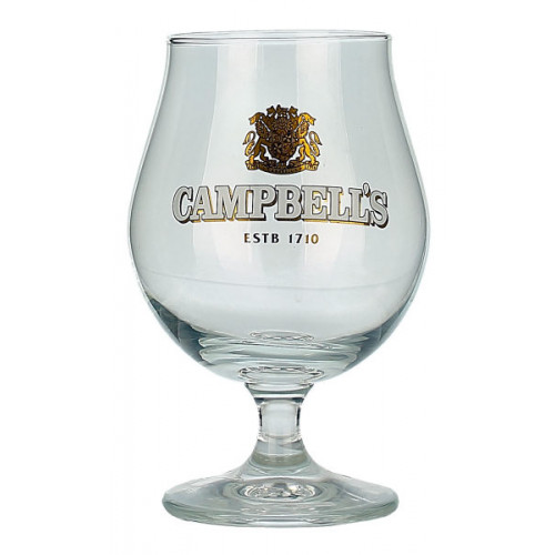 Campbells Tulip Glass