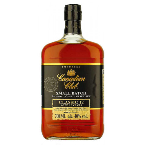 Canadian Club Small Batch Classic 12yo Whisky