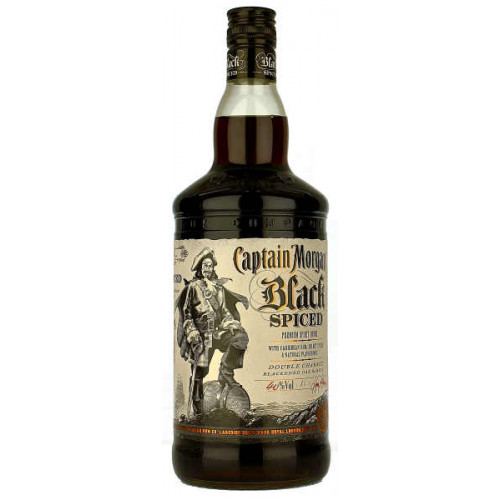 Captain Morgan Black Spiced 1 Litre