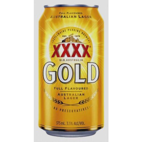 Castlemaine XXXX Gold Can