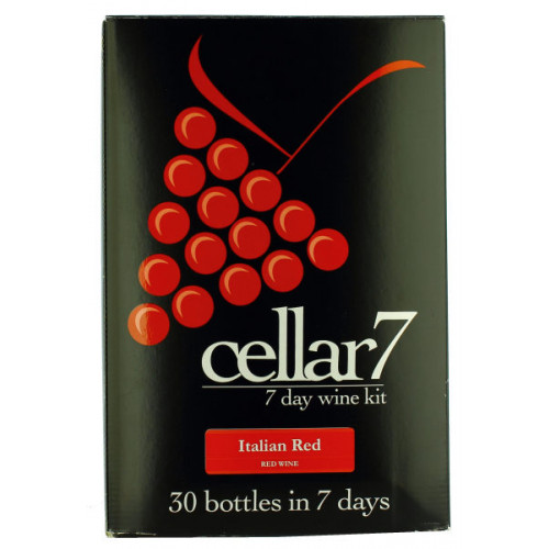 Cellar 7 Italian Red Wine Kit