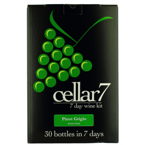 Cellar 7 Pinot Grigio Wine Kit