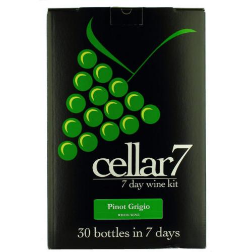 Cellar 7 Pinot Grigio Wine Kit