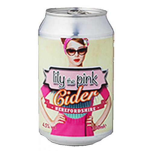 Celtic Marches Lily the Pink Cider Can
