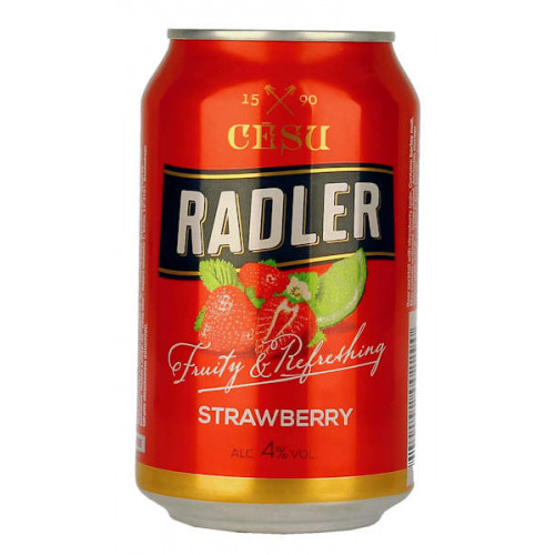 Cesu Radler Strawberry Can