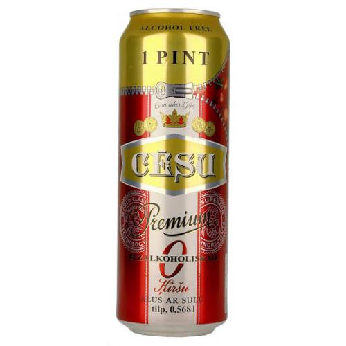 Cesu Premium Alcohol Free With Cherry Can