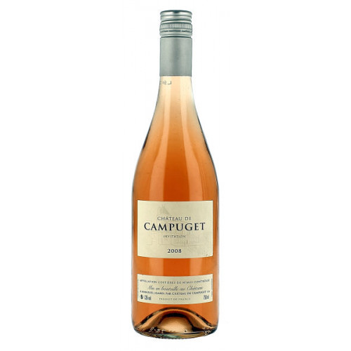 Chateau de Campuget Rose Invitation