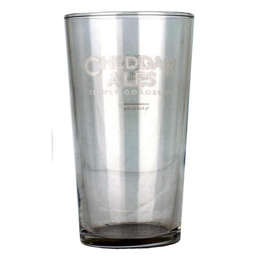 Cheddar Ales Glass (Pint)