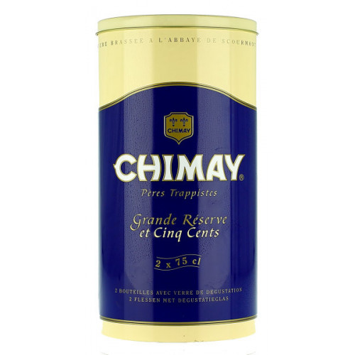 Chimay Gift Pack (2x75cl + 1 Glass)