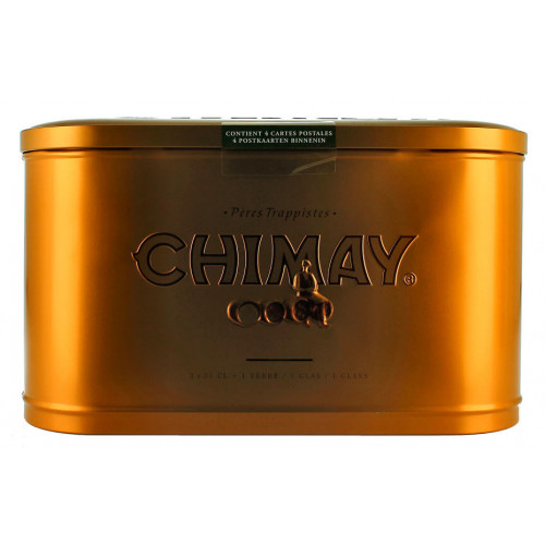 Chimay Gift Pack Tin (3x33cl + 1 Glass)