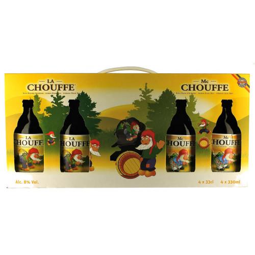 La Chouffe Gift Pack (4x33cl + 1 Glass)