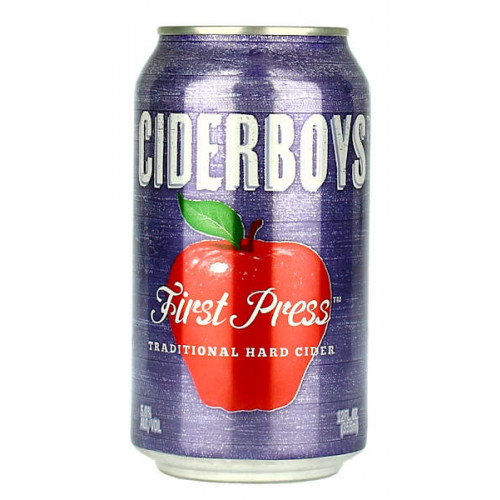 Ciderboys First Press Hard Cider Can