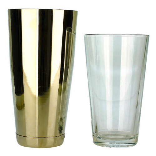 Professional Boston Tin and Glass Cocktail Shaker