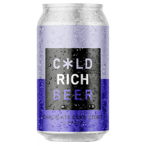 Cold Town Chocolate Cake Stout Can