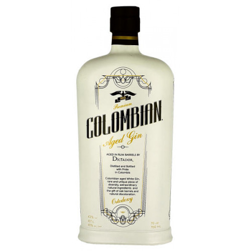 Dictador Colombian Aged White Dry Gin (Ortodoxy)