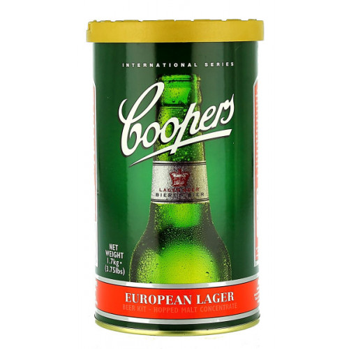 Coopers European Lager Home Brew Kit