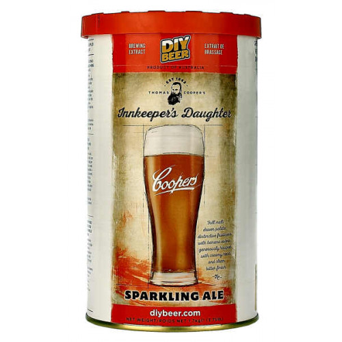 Coopers Innkeepers Daughter Sparkling Ale Home Brew Kit