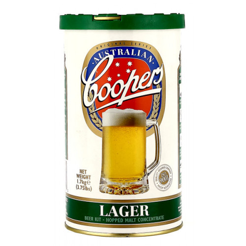 Coopers Lager Home Brew Kit