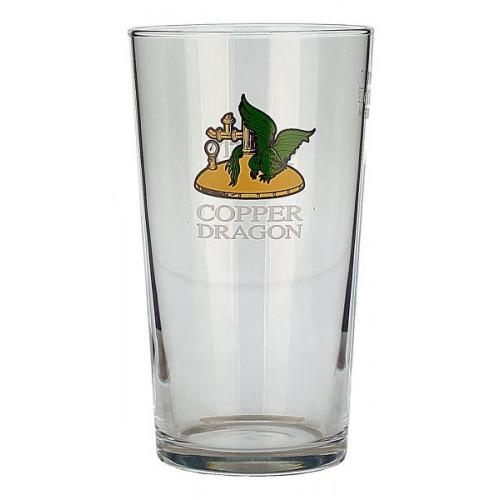 Copper Dragon Glass (Pint)