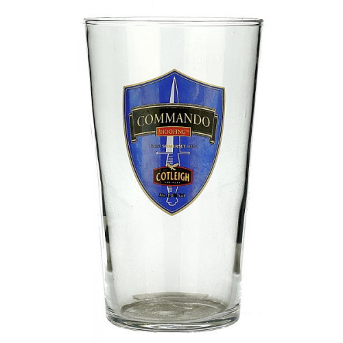Cotleigh Commando Glass (Pint)