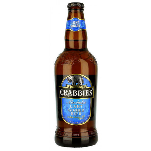 Crabbies Alcoholic Light Ginger Beer