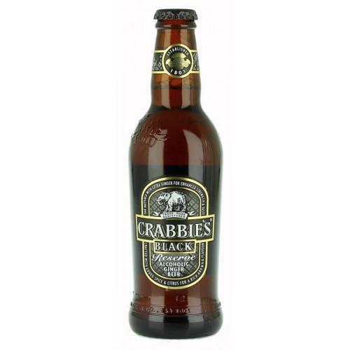Crabbies Black Reserve Alcoholic Ginger Beer