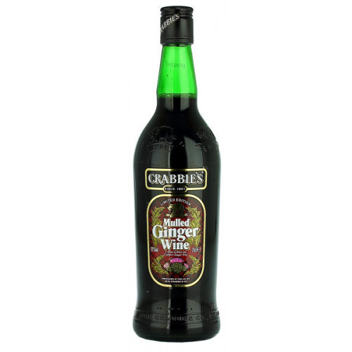 Crabbies Mulled Ginger Wine