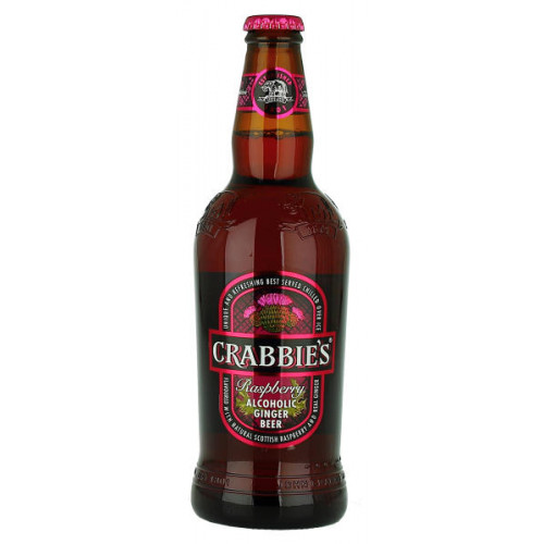 Crabbies Raspberry Alcoholic Ginger Beer