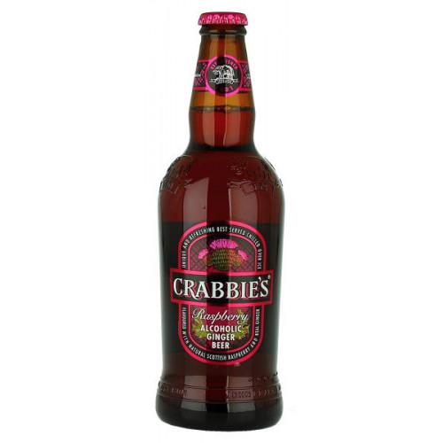 Crabbies Raspberry Alcoholic Ginger Beer