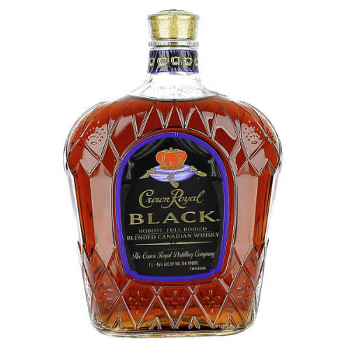 Crown Royal Black Whiskey 1 Litre